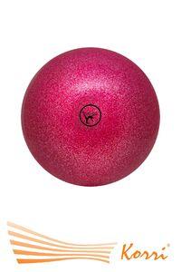 '00568 Мяч  для художественной гимнастики, с блеском (глиттером)  Go Do, (Россия). Диаметр 15 см.
