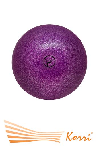 '00569 Мяч  для художественной гимнастики, с блеском (глиттером)  Go Do, (Россия). Диаметр 15 см.