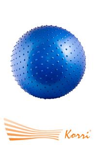 07112 Мяч для фитнеса 75 см с массажными шипами