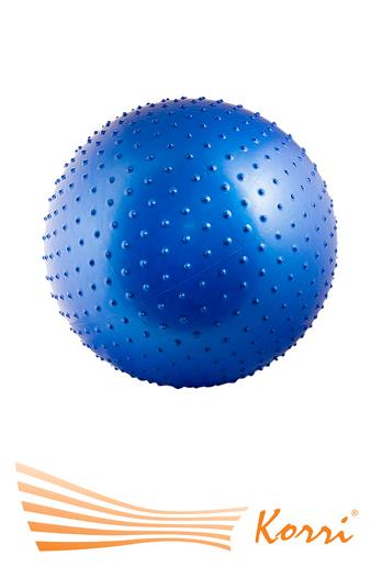 07112 Мяч для фитнеса с массажными шипами, 75 см