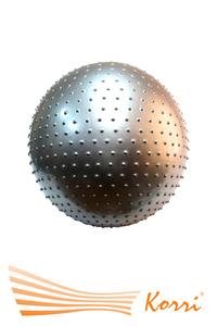 07121 Мяч для фитнеса 60 см с массажными шипами