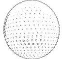 07121 Мяч для фитнеса с массажными шипами, 60 см