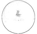 """'07863 Мяч для художественной гимнастики """"L"""" Диаметр 19 см."""