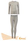 КТ 01 Комплект термобелья, детский, однотонный, отстрочка в тон полотна