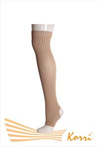 Гетры 4. Гетры танцевальные полипропиленовые в резинку компрессионные (упаковка 5 шт)