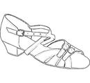 """Т312-100800-А Туфли рейтинговые """"Ангелина 1"""""""