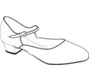 Т403-300600-О Туфли  народно-характерные женские