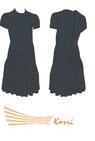 Р 33-051 Рейтинговое платье, короткий рукав