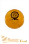 Мяч для художественной гимнастический с блеском  19 см