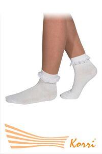 СН11 Носки с рюшами, средний паголенок (упаковка 6 шт)