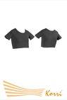 Т 03-301 Топик рукав-футболка (хлопок)
