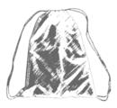 00482 Рюкзак для обуви на завязках с люверсами