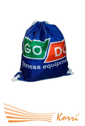 00483 Рюкзак для обуви на завязках с люверсами