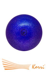 '00631 Мяч для художественной гимнастики GO DO. Диаметр 19 см. С глиттером. Россия