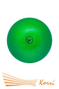 '00634 Мяч для художественной гимнастики GO DO. Диаметр 19 см. С глиттером. Россия
