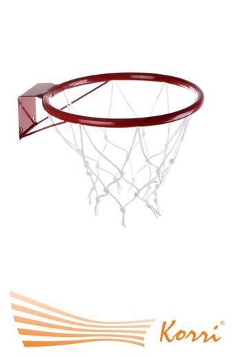 04124 Кольцо баскетбольное №5 с сеткой
