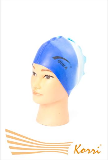 Шапочка для плавания подростковая классический дизайн