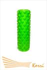 26185 Валик (ролл) для фитнеса рельефный, полый. Длина 45 см, внешний диаметр 12 см, внутренний диаметр 10 см.