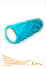 26186 Валик (ролл) для фитнеса рельефный, полый. Длина 44 см, внешний диаметр 13 см, внутренний диаметр 10 см.