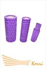 29157 Валик-матрешка для йоги полый жесткий. В комплекте 2 валика. Длина 33 см. Диаметры внутренние 10 и 7 см.