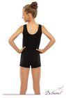 ДГ 030 Комбинезон гимнастический с шортами на широкой лямке, унисекс