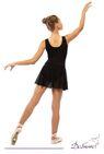 ДГ 110 Купальник гимнастический  на широких лямках, юбка - сетка