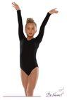 ДГ 930 Купальник гимнастический  длинный рукав
