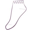 ДН1 Носки спортивные, укороченный паголенок (упаковка 6 шт)