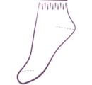 ДН5 Носки спортивные, средний паголенок. Бамбук. (упаковка 6 шт)