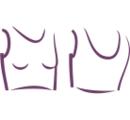 ДТ 010 Топик хлопковый до талии на широких бретелях, низ на резинке