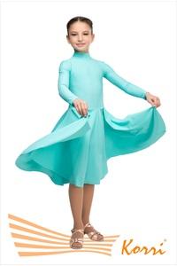 Р 41-011 Рейтинговое платье (воротник-стойка)